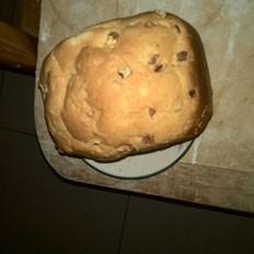 葡萄干核桃面包