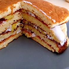 低脂全麦pancake