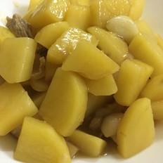 宿舍菜谱之土豆炖肉