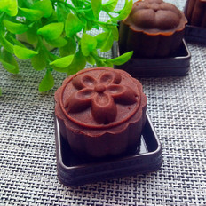 巧克力椰蓉蔓越莓月饼