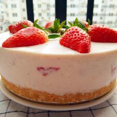 八寸草莓慕斯蛋糕(免烤)