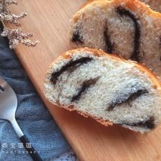 黑芝麻酱面包