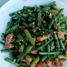 蒜薹炒肉 下饭菜