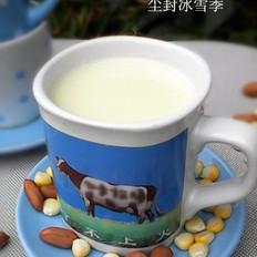 奶香花生玉米汁的做法