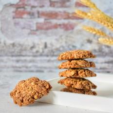 红糖核桃燕麦饼干