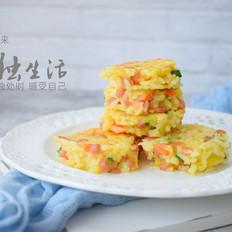 黄金米饭蛋饼