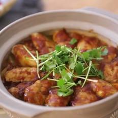 三汁鸡翅焖锅的做法