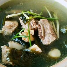 干贝海米排骨汤