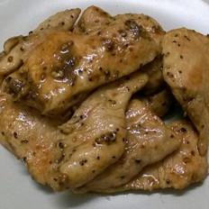 低脂香煎黑椒鸡胸肉