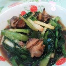 韭菜炒海螺肉