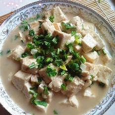 蛤蜊汤炖豆腐