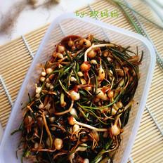 韩式腌小根蒜