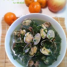 荠菜蛤蜊汤