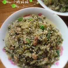 肉丁炒小豆腐