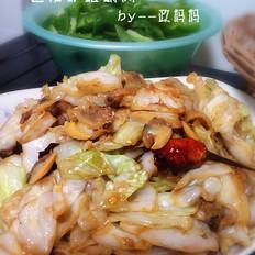 包菜炒蛤蜊肉