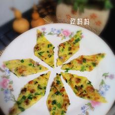 韭菜蛤蜊饼