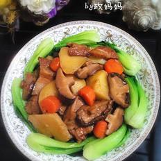 香菇炖土豆