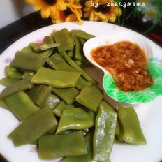 蒜泥扁芸豆