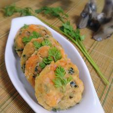 韭菜鲜虾饼