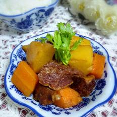 牛肉炖土豆胡萝卜