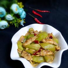丝瓜炒海鲜