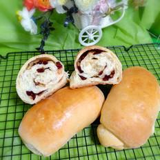 蔓越莓面包卷