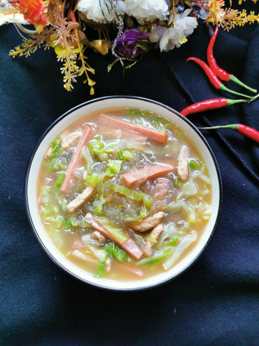 猪肉火腿粉条汤