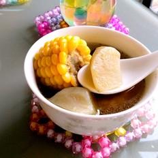 玉米雪莲果排骨汤