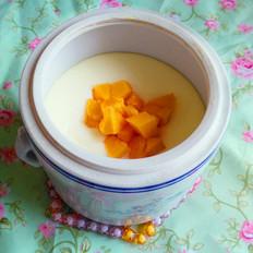 木瓜牛奶炖鸡蛋