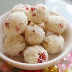 蛋白蔓越莓椰丝球