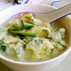 韭菜面片汤