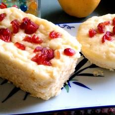 蔓越莓玉米发糕