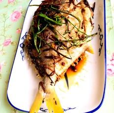 香煎白鲳鱼的做法