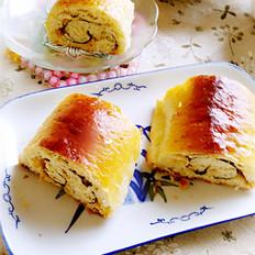 海苔肉松面包