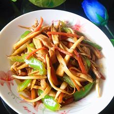 水笋炒肉丝