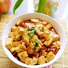 豆腐炒肉丁