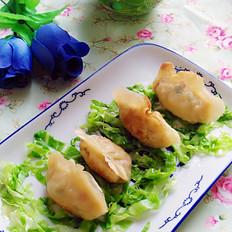 胡萝卜莲藕煎饺