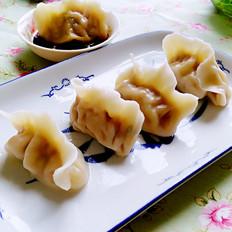 煮胡萝卜土豆水饺