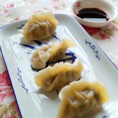 煮胡萝卜香菇水饺
