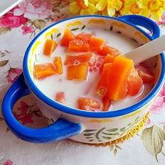 西米露煮水果木瓜