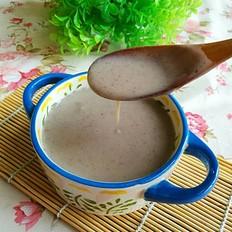 黑豆薏米小米糊