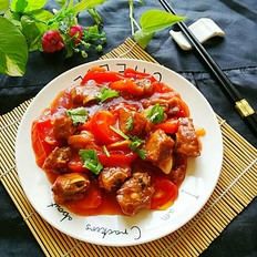 番茄酸甜排骨--酸甜开胃菜