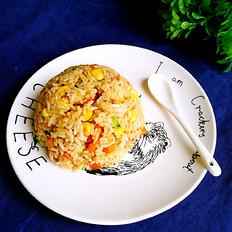 培根玉米胡萝卜炒饭