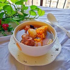 玉米莲藕鸡汤