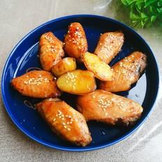 烤土豆鸡翅