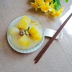 冬瓜绿豆大骨汤
