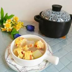 糯玉米冬瓜龙骨汤