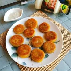 红薯糯米小饼