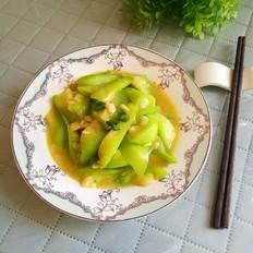 蒜蓉炒丝瓜