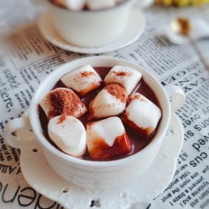 棉花糖热可可饮